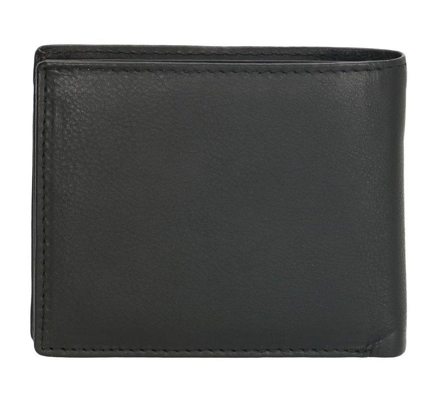Double-D portemonnee 103 zwart