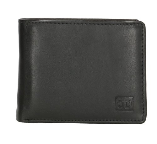 Double-D Double-D portemonnee 104 zwart