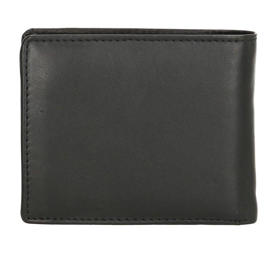 Double-D portemonnee 104 zwart