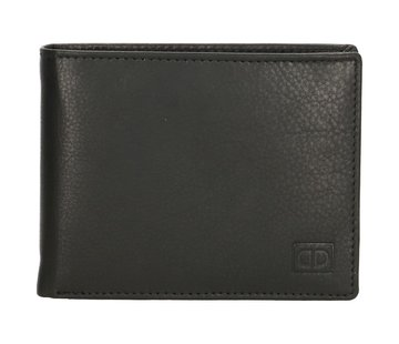Double-D Double-D portemonnee 107 zwart