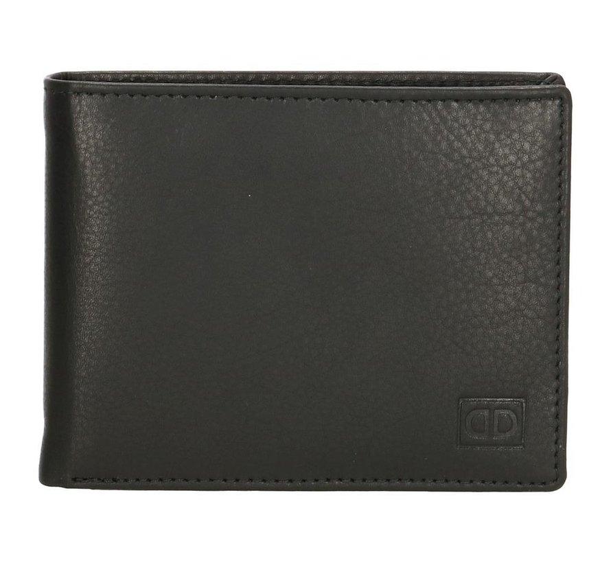 Double-D portemonnee 107 zwart