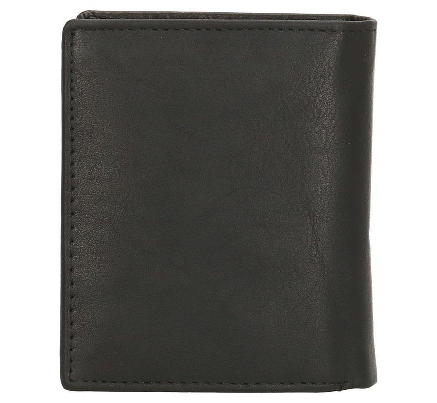 Double-D portemonnee 202 zwart