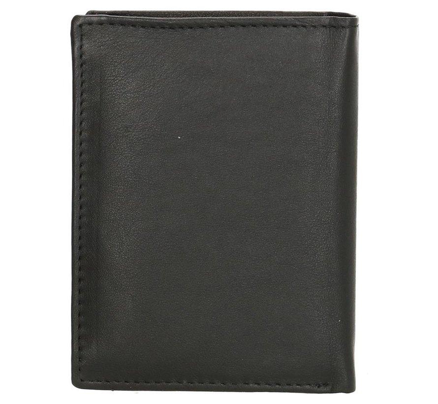 Double-D portemonnee 205 zwart