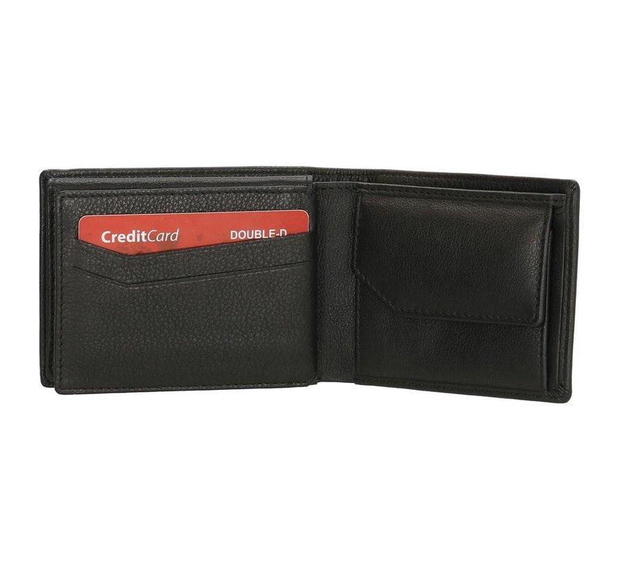 Double-D portemonnee 140 zwart