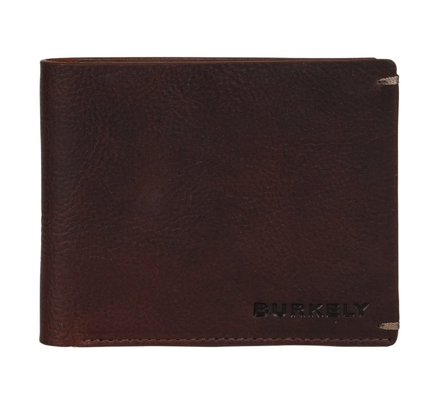 Burkely Antique Avery billfold low coin bruin