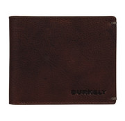 Burkely Burkely Antique Avery billfold low flap bruin