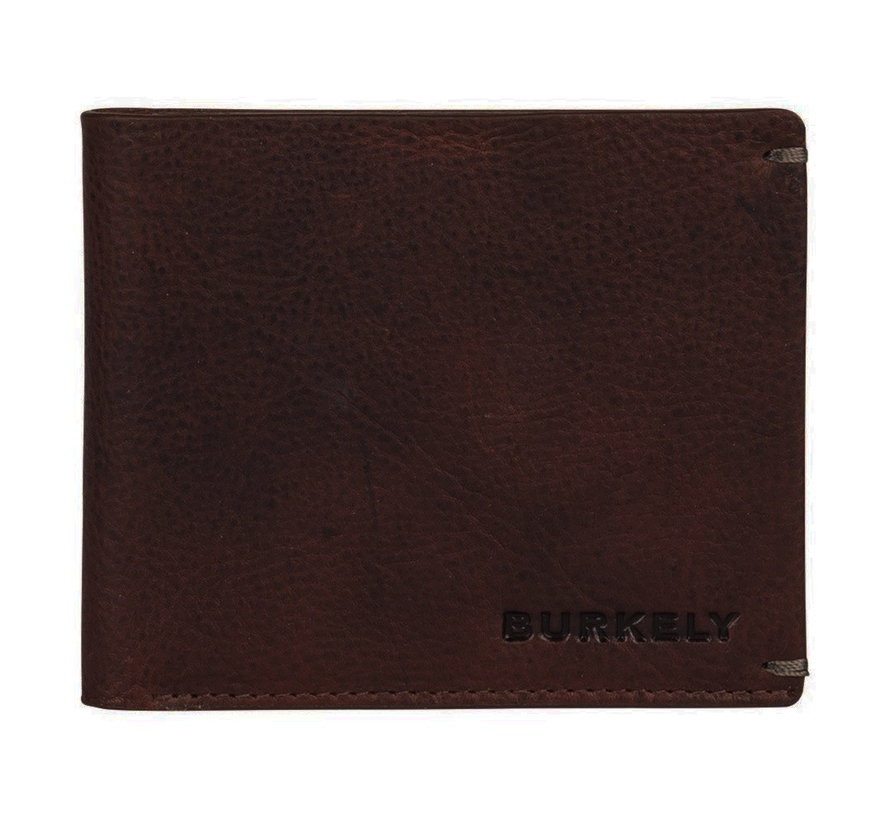 Burkely Antique Avery billfold low flap bruin