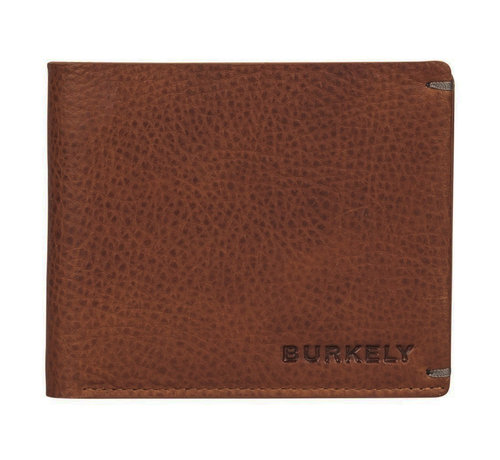 Burkely Burkely Antique Avery billfold low flap cognac
