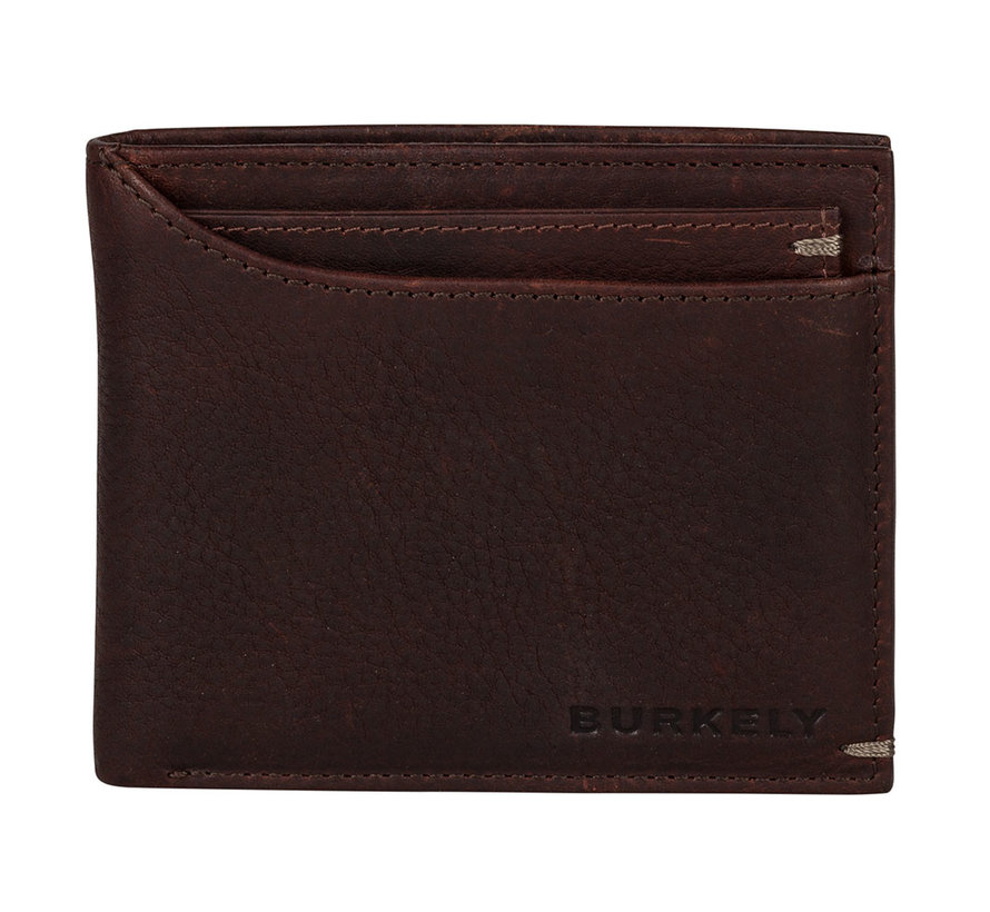 Burkely Antique Avery billfold low cc coin bruin