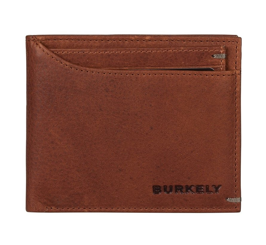 Burkely Antique Avery billfold low cc coin cognac