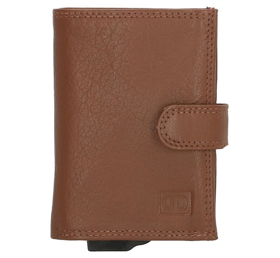 Double-D creditcardhouder 632 bruin