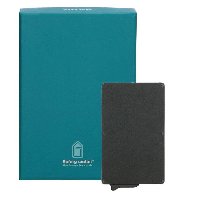Safety Wallet cardprotector zwart