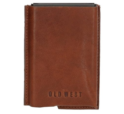 Old West Old West creditcardhouder 225 bruin