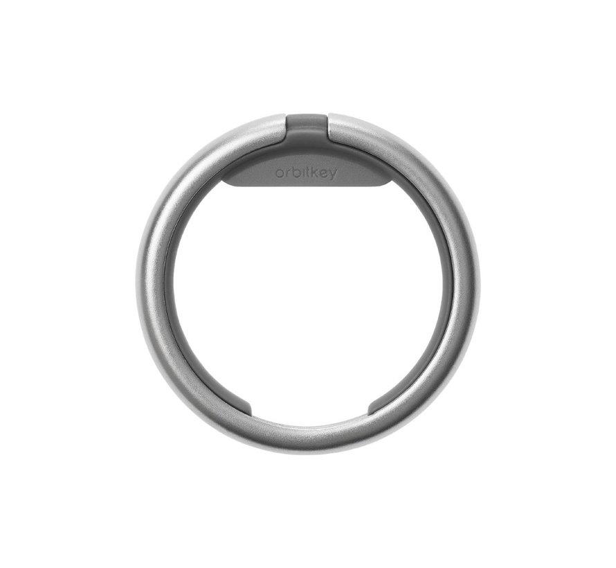 Orbitkey Ring silver charcoal