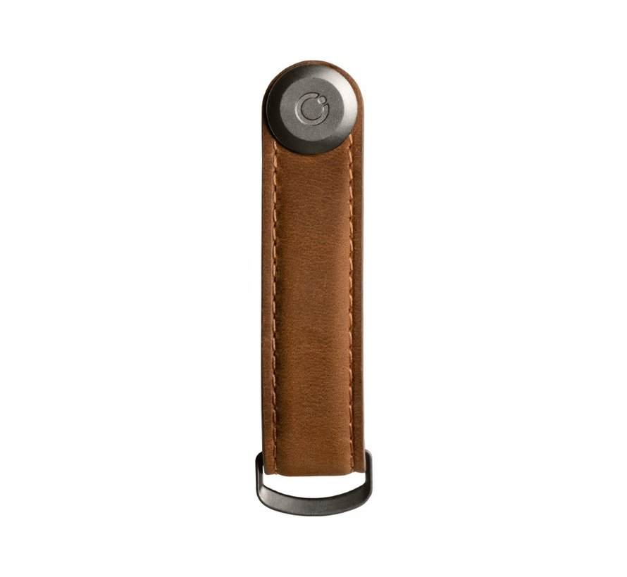 Orbitkey Crazy Horse Leather 2.0 chestnut brown