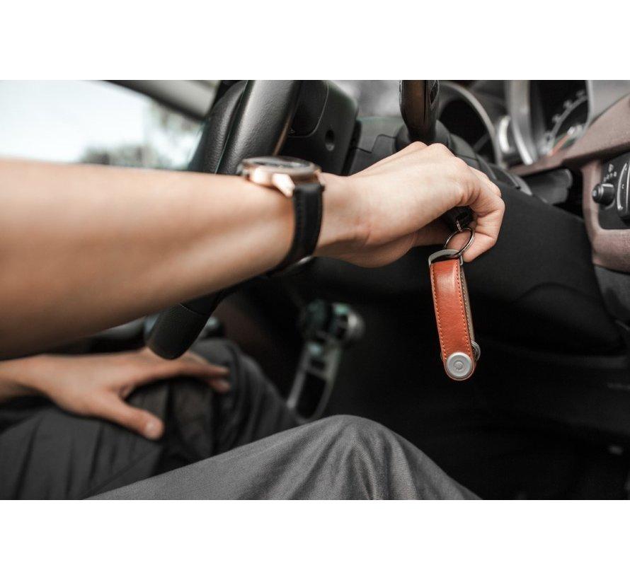 Orbitkey Premium Leather 2.0 cognac tan