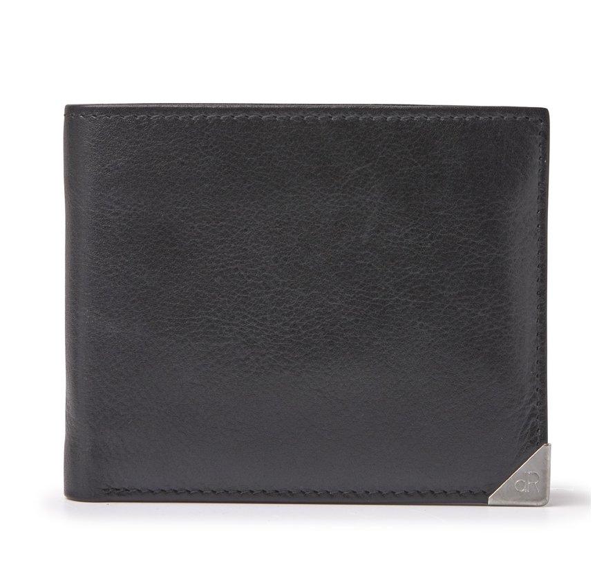 dR Amsterdam Toronto billfold zwart - 15580