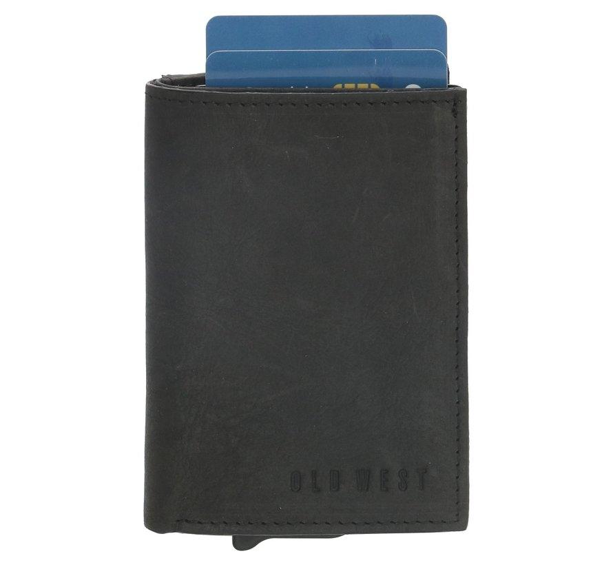 Old West Austin safety wallet zwart