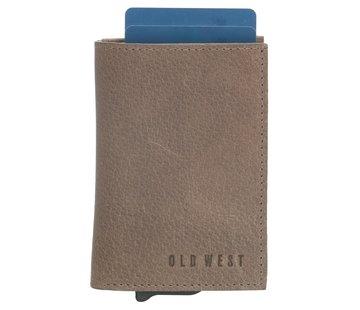 Old West Old West Austin safety wallet grijs