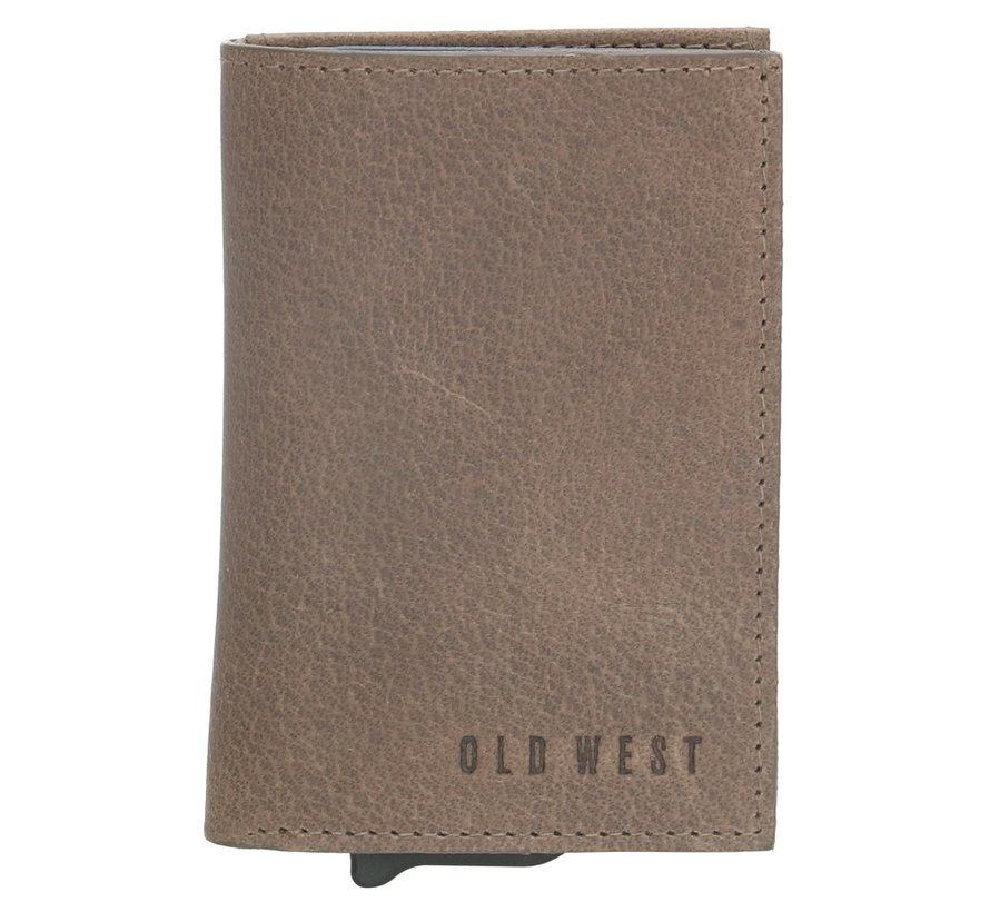 Old West Austin safety wallet grijs