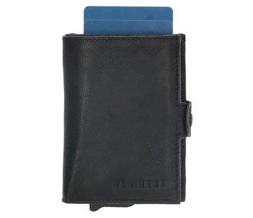Old West Old West Round Rock safety wallet zwart