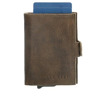 Old West Old West Round Rock safety wallet olijf