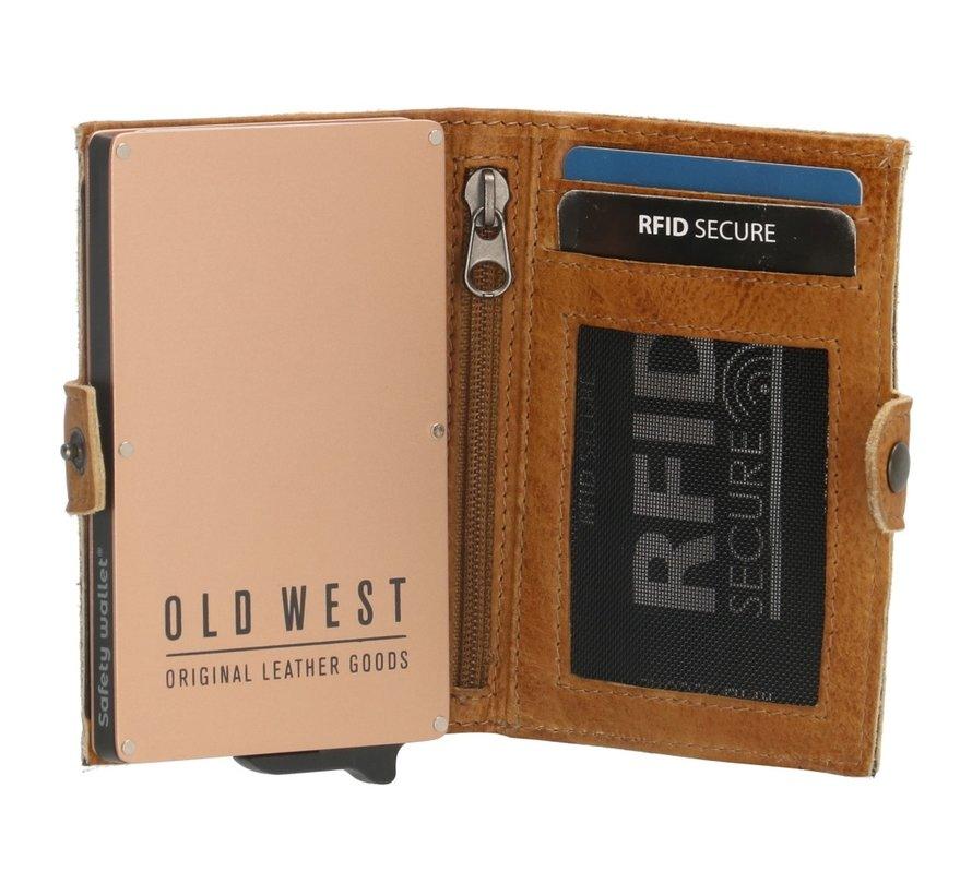 Old West Round Rock safety wallet okergeel