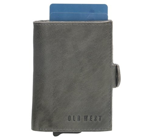 Old West Old West Round Rock safety wallet grijs