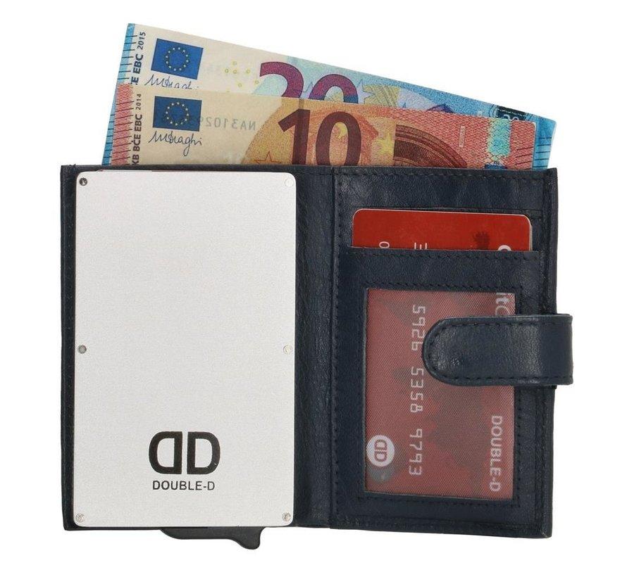 Double-D creditcardhouder 208 blauw