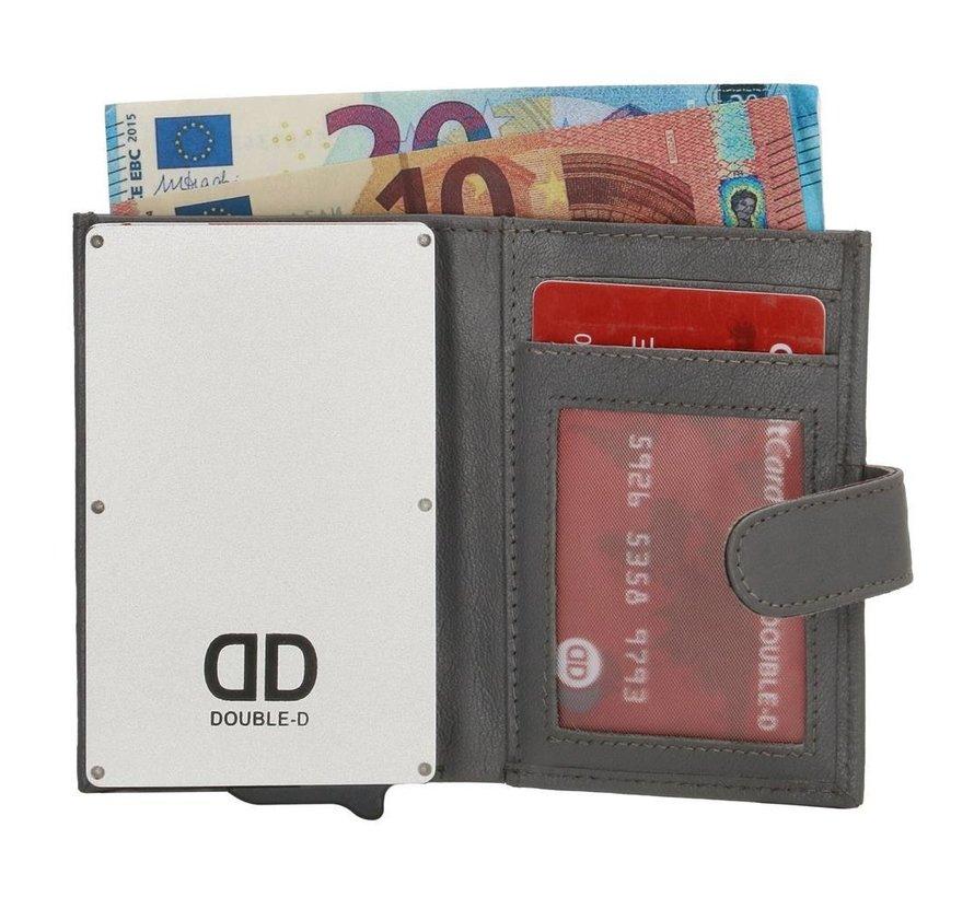 Double-D creditcardhouder 208 grijs