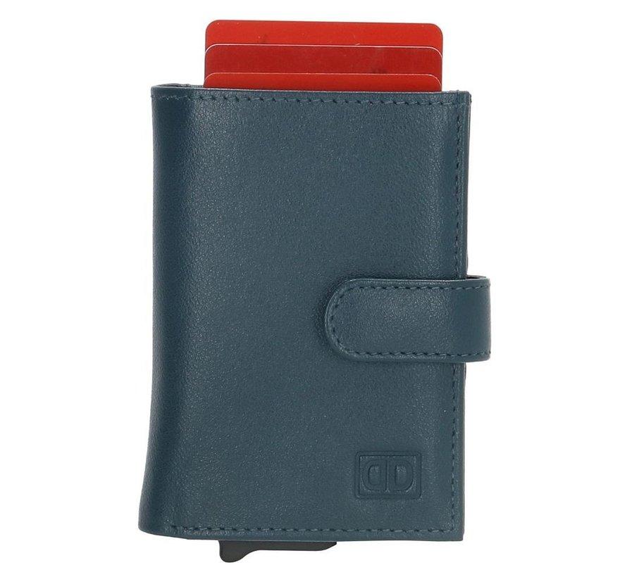 Double-D creditcardhouder 208 jeansblauw