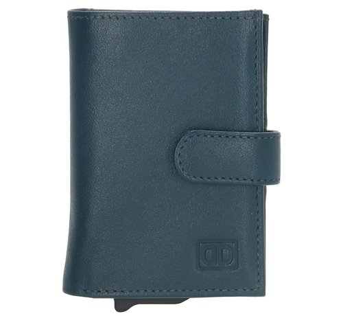 Double-D Double-D creditcardhouder 208 jeansblauw