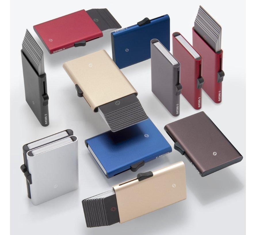 C-secure XL Cardholder silver