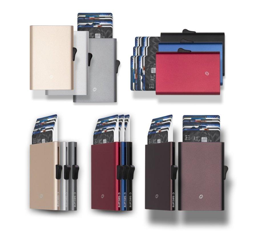 C-secure XL Cardholder brown