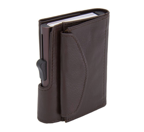 C-secure C-secure XL Coin Wallet mogano