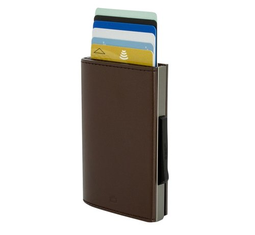Ogon Designs Ögon Cascade Wallet titanium brown