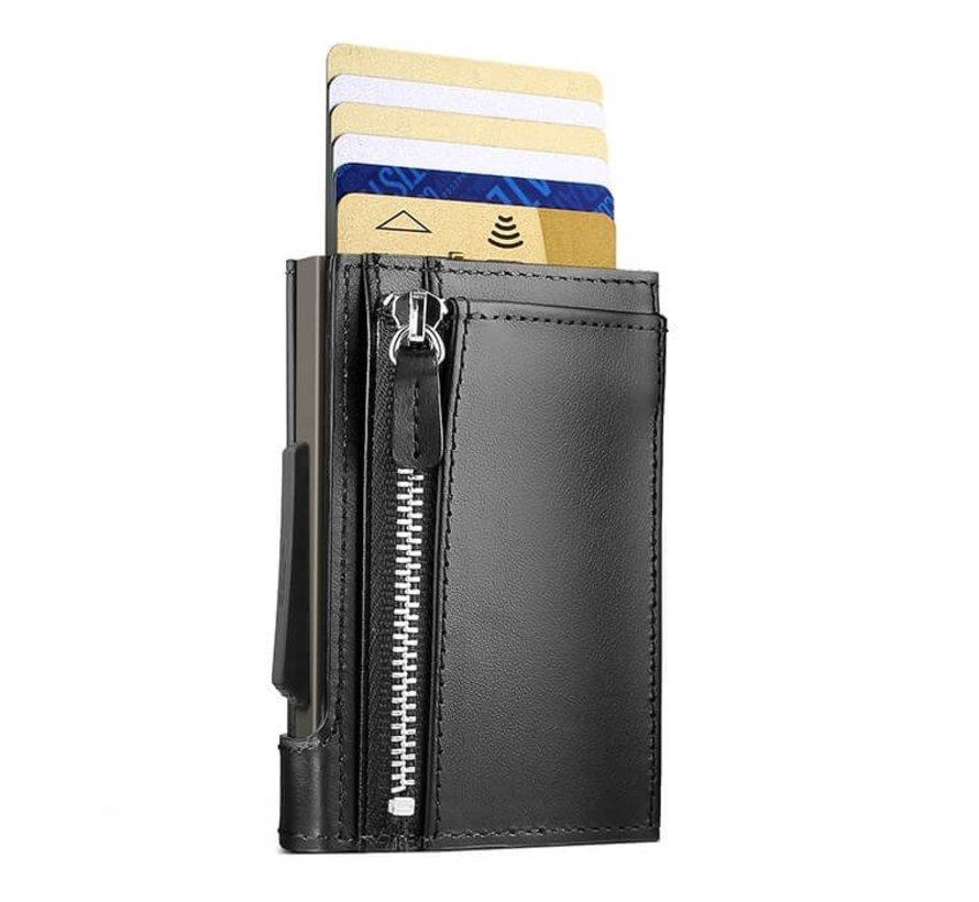 Ögon Cascade Zipper Snap titanium black