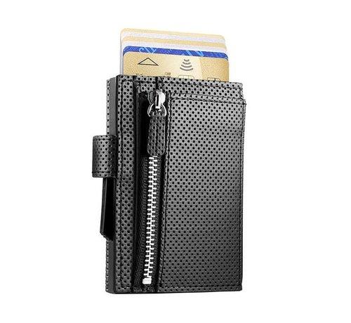 Ogon Designs Ögon Cascade Zipper Snap traforato full black