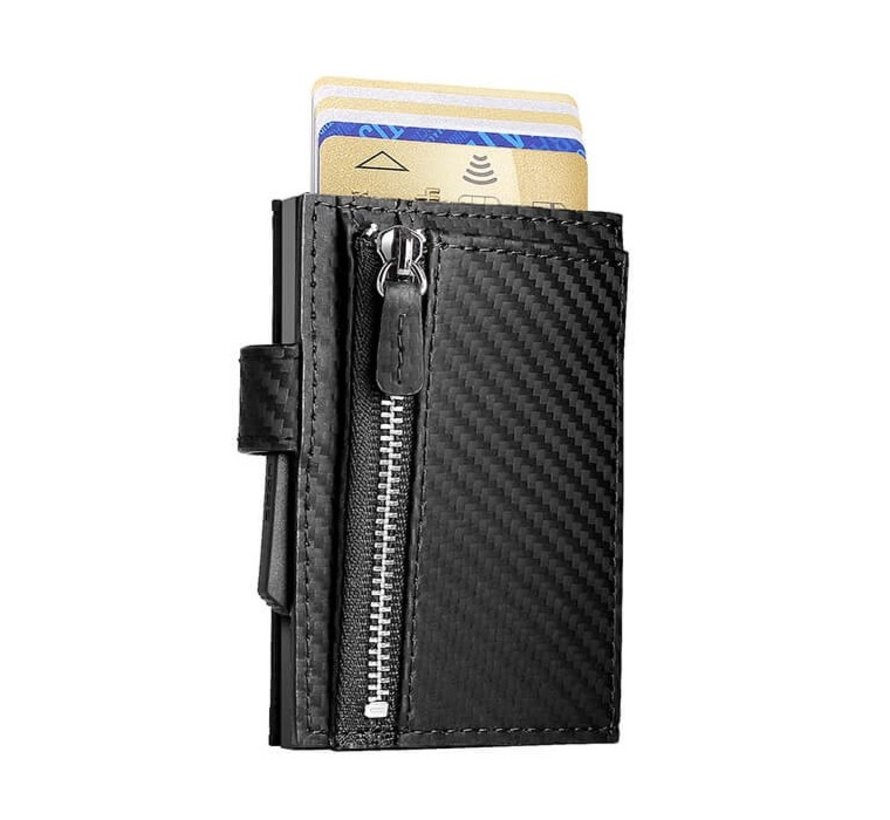 Ögon Cascade Zipper Snap carbon black