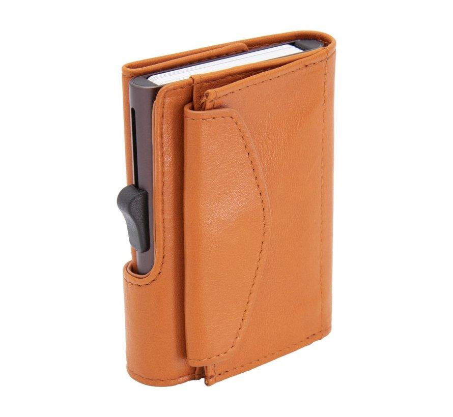 C-secure XL Coin Wallet arancio