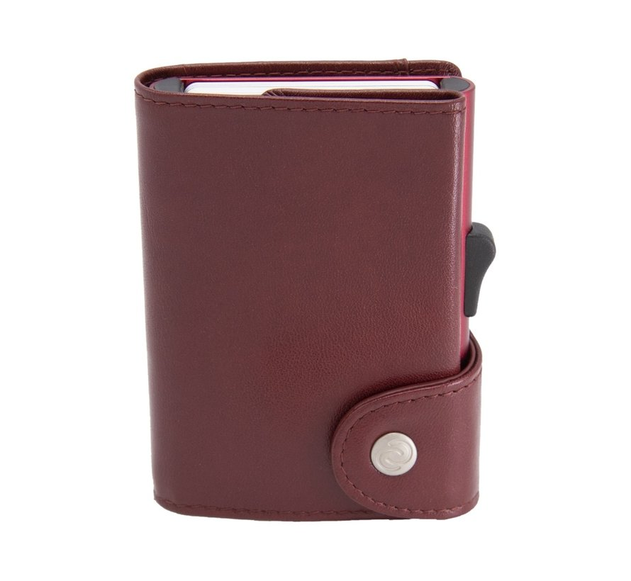 C-secure XL Coin Wallet red