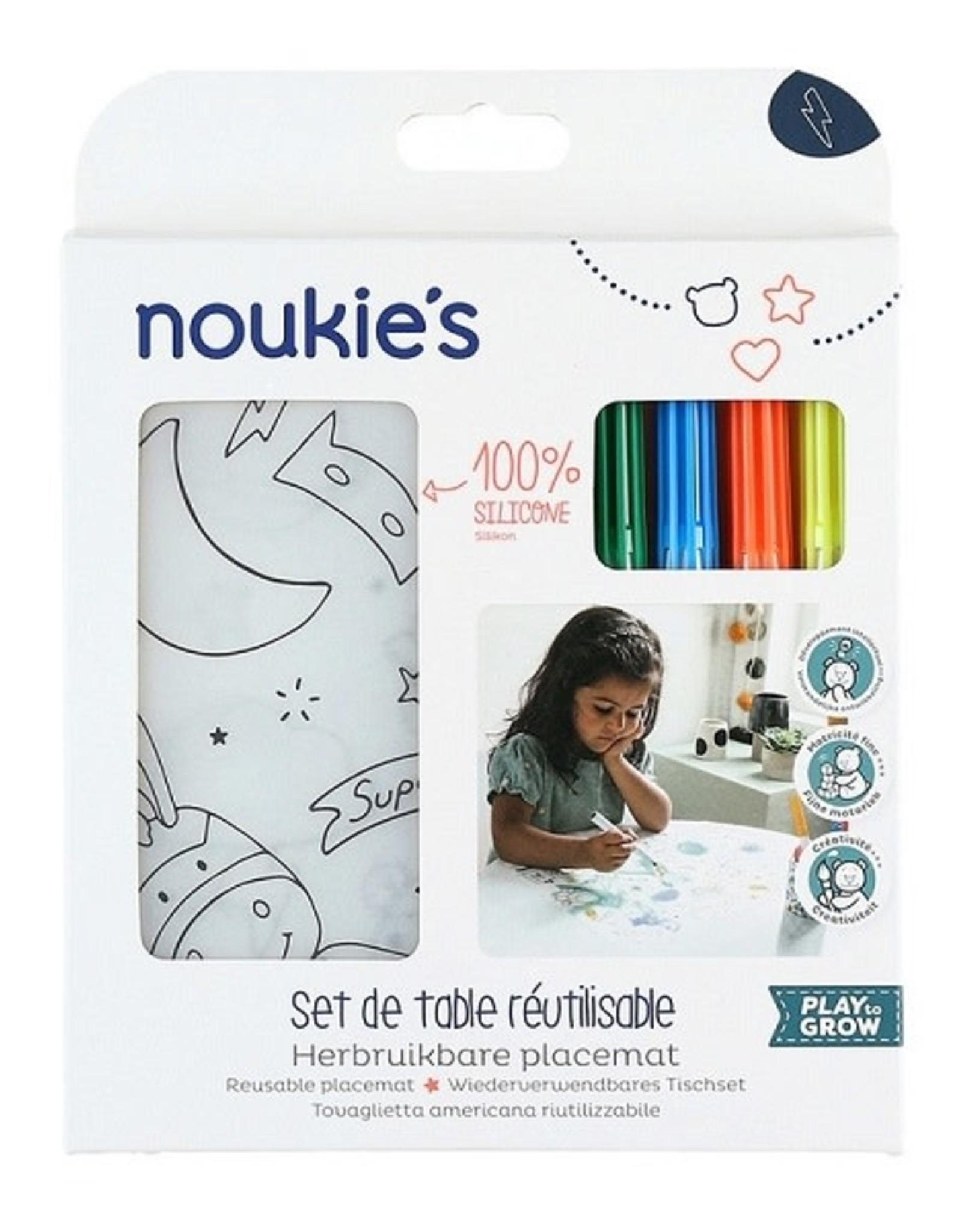 Noukie's Placemat + stiften N1820.8
