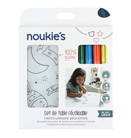 Noukie's Noukie's Placemat + stiften N1820.8