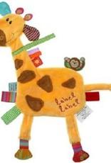 Label label Labeldoekje Giraf