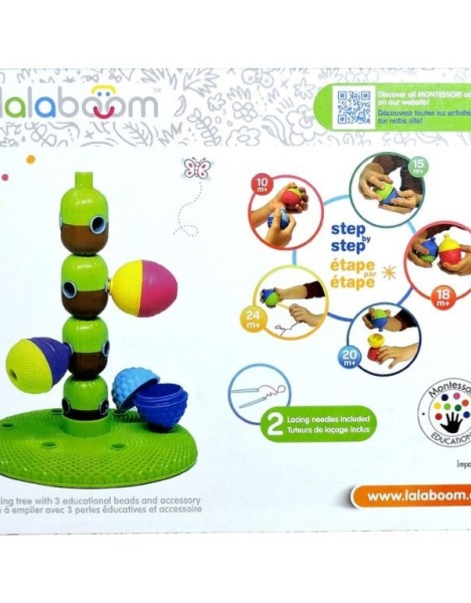 """Lalaboom Stack'n""""beads tree"""