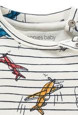 Noppies T-shirt streep vliegtuig