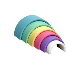 Dëna Rainbow 6 stuks pastel