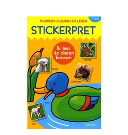 Deltas Deltas Kleur-Plak en leerboek Stickerpret