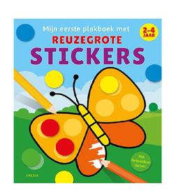 Deltas Deltas Mijn eerste plakboek met reuzegrote stickers ( bollen)