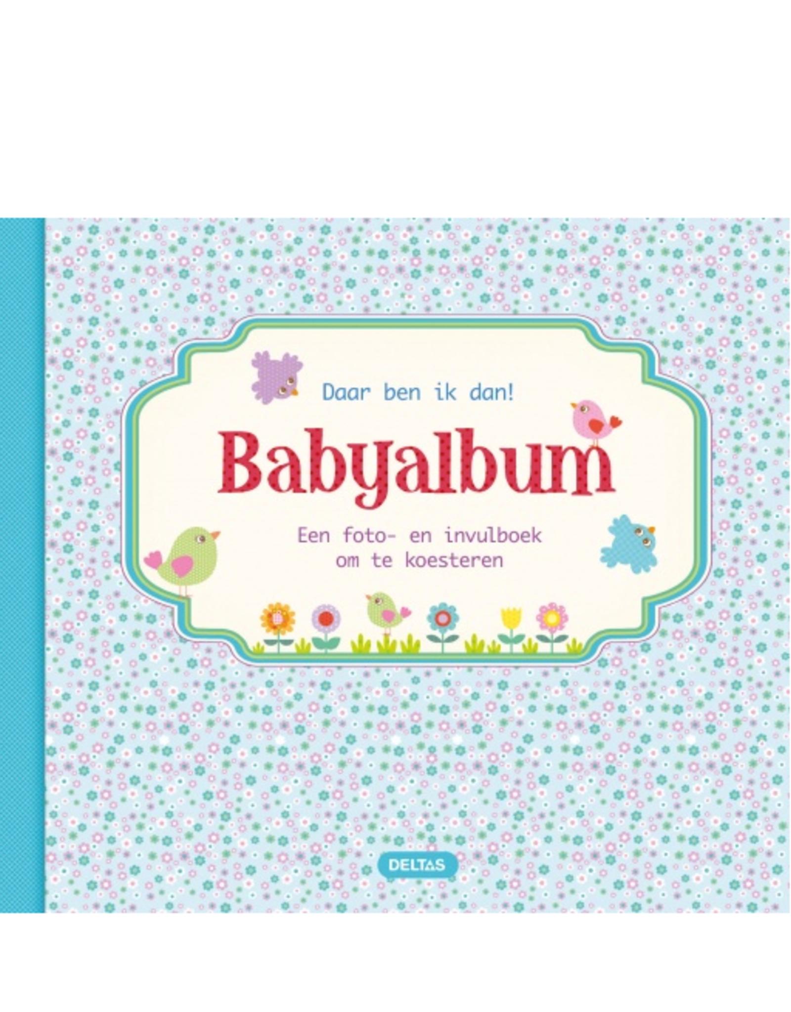 Deltas Babyalbum blauw